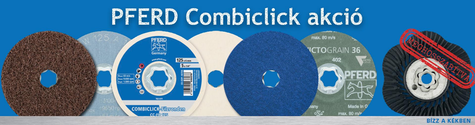 PFERD Combiclick akció banner